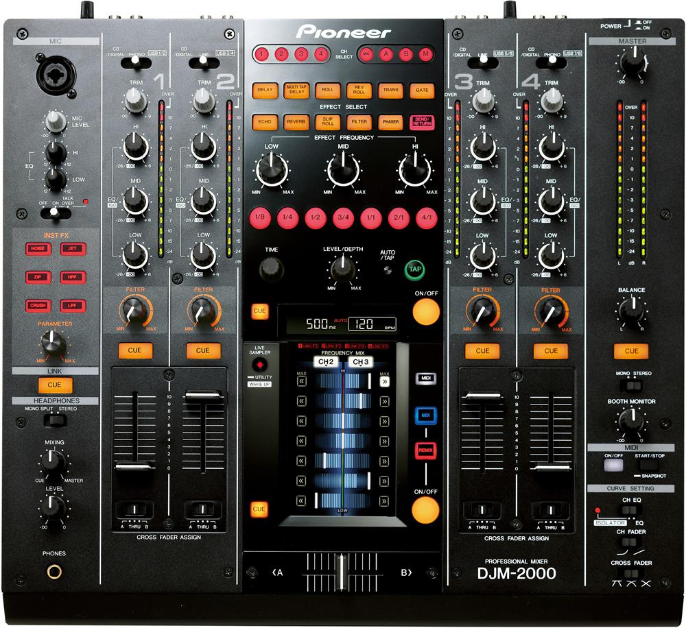 pioneer table de mixage djm 2000 occasion jsfrance. Black Bedroom Furniture Sets. Home Design Ideas