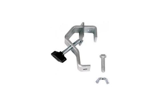 ASD - Crochet acier pour tube ø 20 à 50 mm avec contre plaque (Neuf)