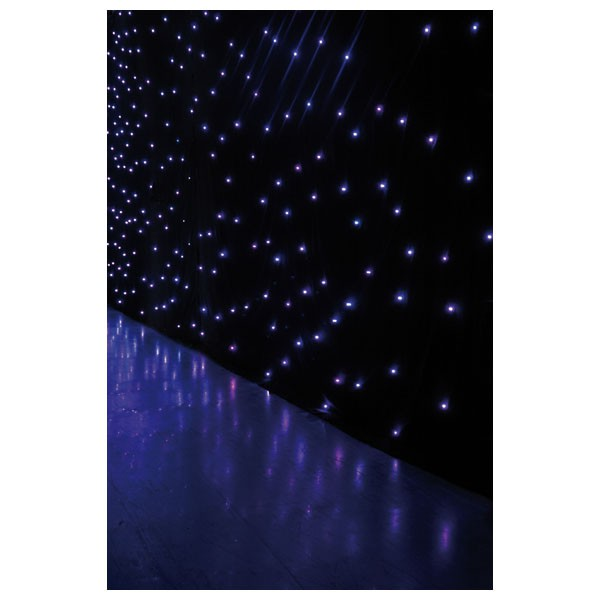 Showtec rideau noir ciel etoil led starsky pro 6x4m neuf jsfrance - Ciel etoile led ...