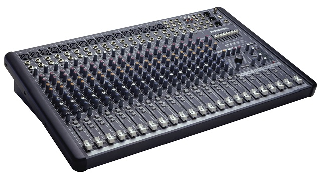 mackie - cfx20 mkii - professional effects mixer (new) - jsfrance