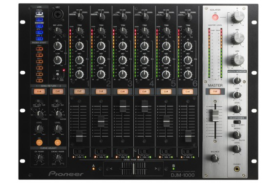 Pioneer table de mixage djm 1000 occasion jsfrance - Table de mixage professionnelle studio ...