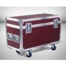 AMPTOWN - Flight-case pour 2 SHARPY - mousses thermoformées avec roulettes incluses (Neuf)