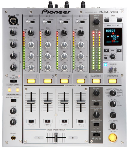 Pioneer djm 700s digital dj mixer silver new jsfrance - Table de mixage pioneer djm 5000 ...