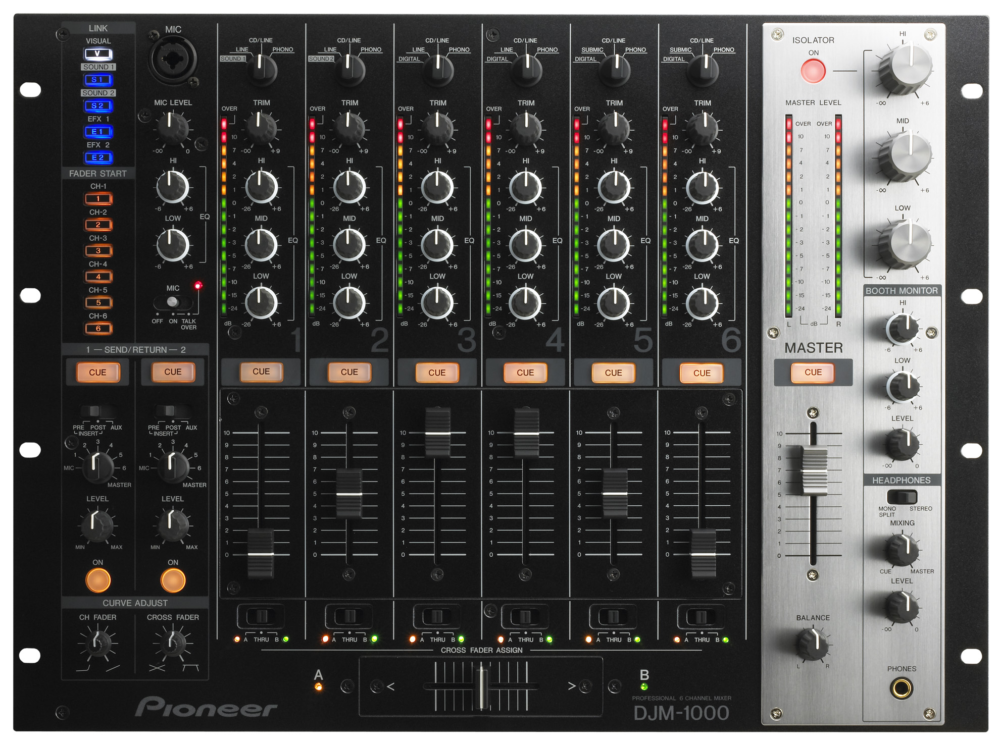 pioneer djm 1000 professional digital dj mixer new jsfrance. Black Bedroom Furniture Sets. Home Design Ideas
