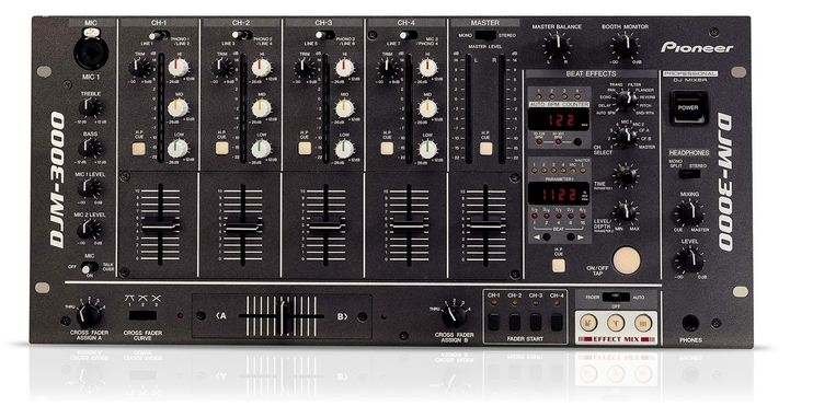 pioneer djm 3000 dj mixer new jsfrance. Black Bedroom Furniture Sets. Home Design Ideas
