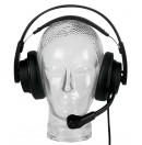 ASL - Combiné micro/casque 2 oreillettes HR2/E (Neuf)