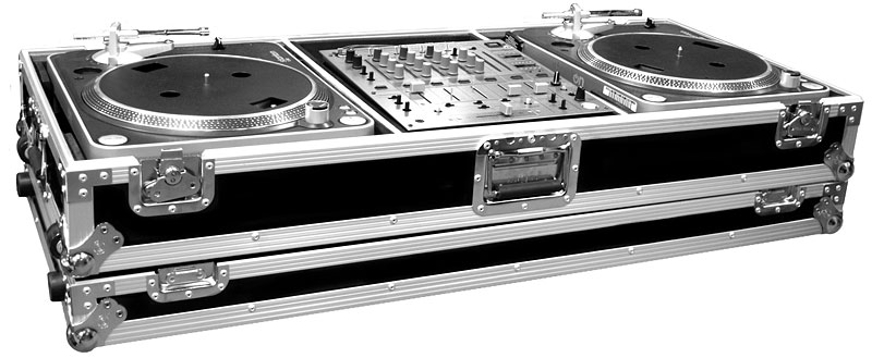 ROAD READY ROAD READY - Flight-case for 2 turntables & Universal Mixer ...
