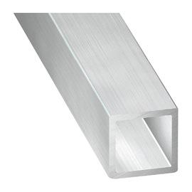 profil carr aluminium 40x40mm epaisseur 3mm livr. Black Bedroom Furniture Sets. Home Design Ideas