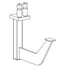 PROLYTE - Adaptateur double rambardes 100 kg/m pour Easy Frame B (Neuf)