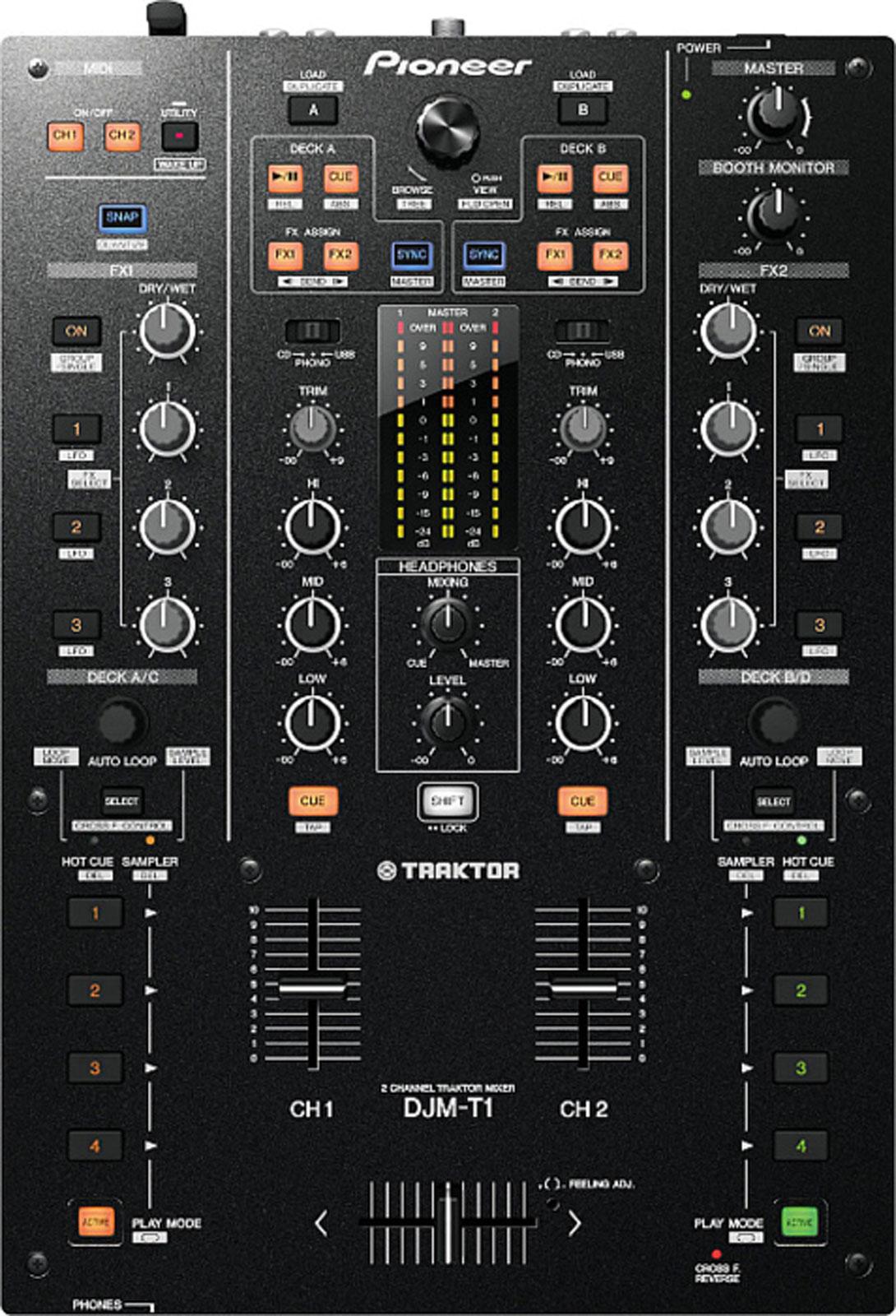 pioneer - djm-t1 high performance digital mixer (new) - jsfrance