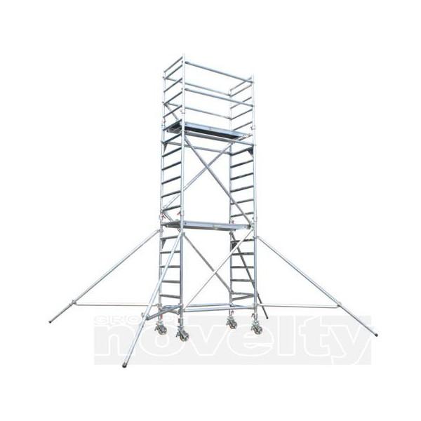 asd tour echafaudage up4 de 4m avec escalier garde. Black Bedroom Furniture Sets. Home Design Ideas