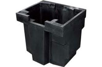 4 x Clé Gris foncé//dark bluish gray Key//40359 A article neuf Lego