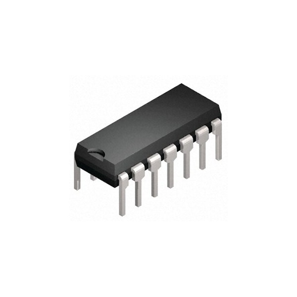 Circuit logique porte nand hef4093bp neuf jsfrance for Fonction nand