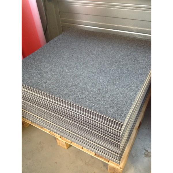 Moquette pour praticable gris anthracite 1mx1m neuf for Moquette anthracite