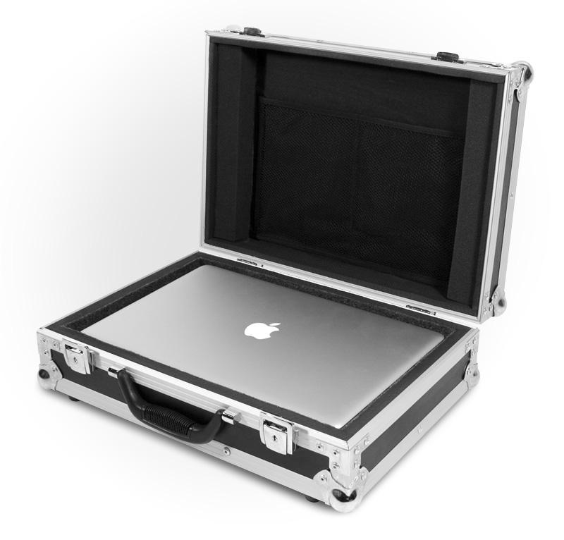 road ready flight case valise pour ordinateur portable. Black Bedroom Furniture Sets. Home Design Ideas