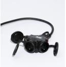 Prolongateur électrique - 2.5M Titanex 3G2.5 et prises Legrand 50445 et PCE triple (Neuf)