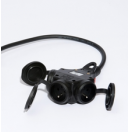 Prolongateur électrique - 7.5M Titanex 3G2.5 et prise Legrand 50445 et PCE triple (Neuf)