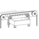 PROLYTE - Poulie pour ST-009 - chaîne 10mm (Neuf)