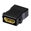 PROCAB - Adaptateur HDMI 19 pôles Femelle vers HDMI 19 pôles Femelle - Fixation à visser - BSP450 (Neuf)
