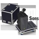 RYTHMES & SONS - Flight-case pour 2 enceintes L-ACOUSTICS ARCS FOCUS/WIDE (Neuf)
