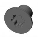 MARTIN - Vis M3x4 cs torx - Noir pour lyre MARTIN (Neuf)