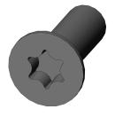 MARTIN - Vis M4x12 cs torx - Noir pour lyre MARTIN (Neuf)