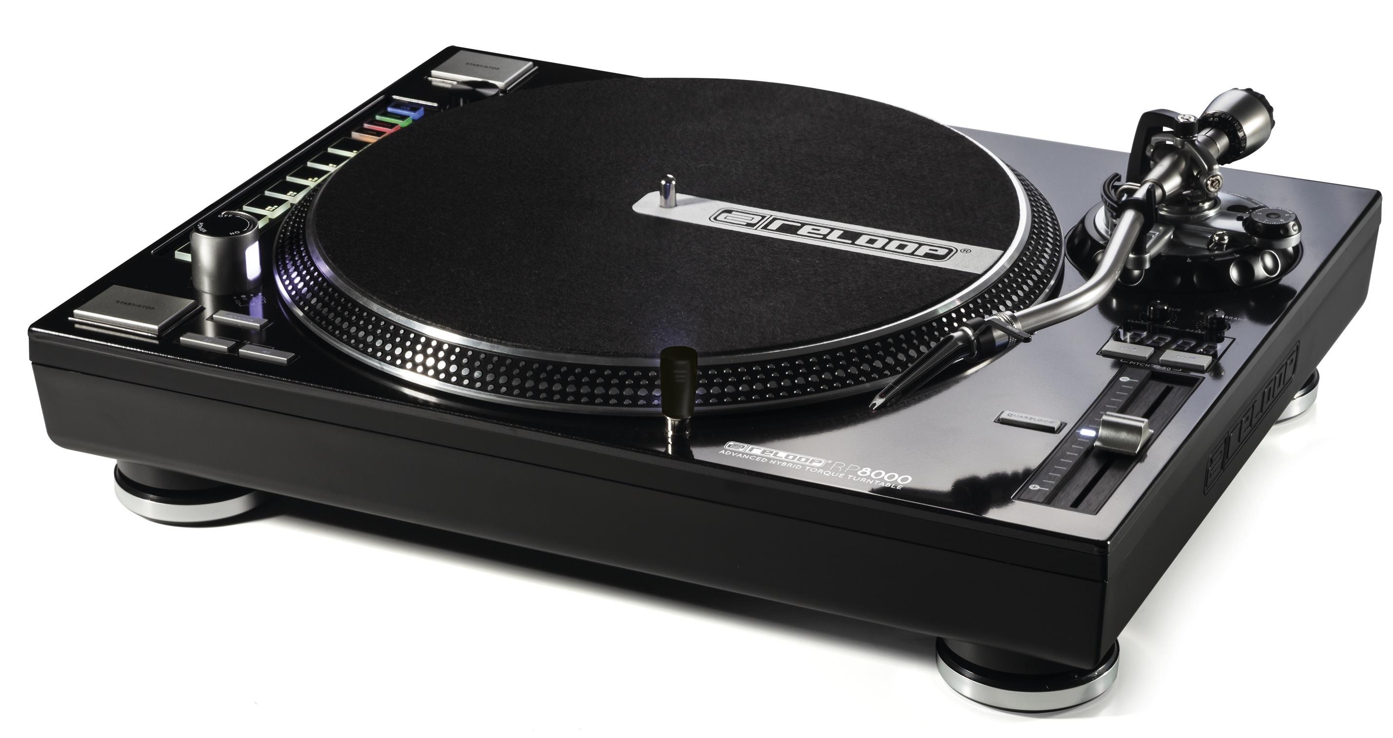 reloop platine vinyle rp8000 noir neuf jsfrance. Black Bedroom Furniture Sets. Home Design Ideas