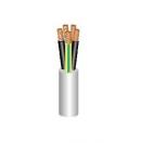 Câble secteur souple HO5VV-F  4G1Blanc R100 P4.8km - vendu au mètre (Neuf)