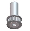 MARTIN - Poulie T2.5-24 W7 diamètre 5mm longueur spéciale pour lyre MARTIN (Neuf)