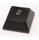 """MARTIN - Touche de clavier """"2"""" pour Console lumière série M (Neuf)"""