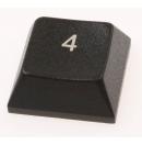 """MARTIN - Touche de clavier """"4"""" pour Console lumière série M (Neuf)"""