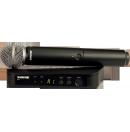 SHURE - Ensemble micro à main HF sans fil BLX24e/SM58 (Neuf)
