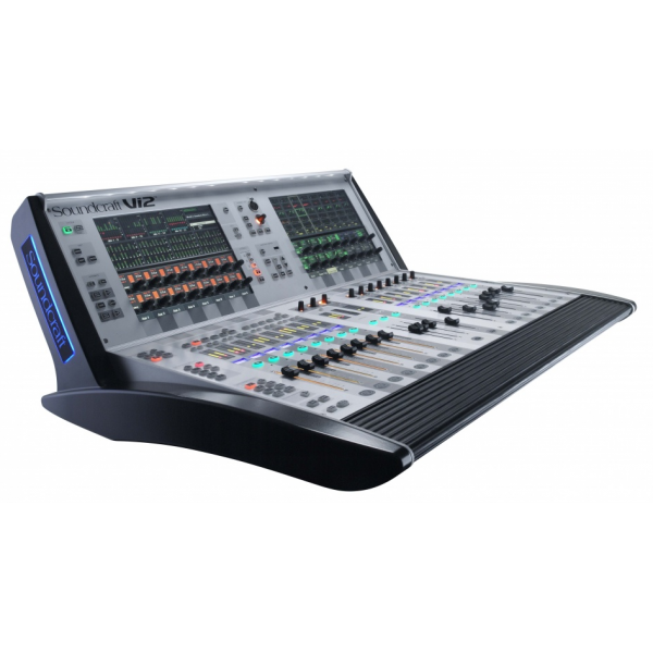 soundcraft table de mixage num rique vi2 inclus flight. Black Bedroom Furniture Sets. Home Design Ideas