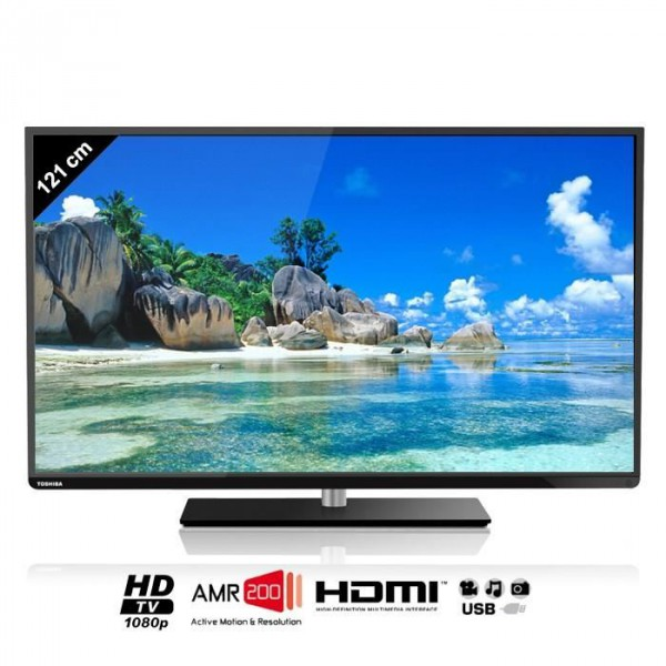 toshiba ecran lcd 48 full hd avec tuner 48l1433dg 121cm neuf jsfrance. Black Bedroom Furniture Sets. Home Design Ideas