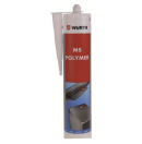 WURTH - Mastic MS Polymere - Transparent - 310 ml (Neuf)