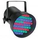 CONTEST - LED 38RGB BL - Projecteur PAR38 DMX 75 LEDs 9W RGB - Noir (Neuf)