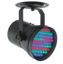 CONTEST - LED 36RGB BL - Projecteur PAR36 DMX 55 LEDs 8W RGB - Noir (Neuf)