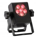 CONTEST - MINICUBE - 6TCb - Projecteur compact 6 LEDs 3W RGB (Neuf)