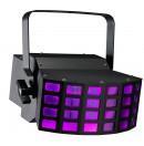 CONTEST - LED BEAMER - Projecteur multi-faisceaux 2 LEDs 9W RGB (Neuf)