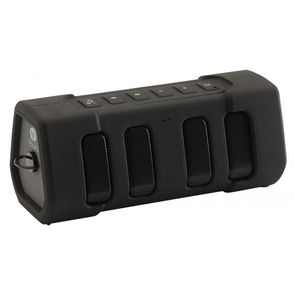 audiophony brick 120 enceinte portable amplifi e bluethooth hifi ip5x sur batterie 20w. Black Bedroom Furniture Sets. Home Design Ideas