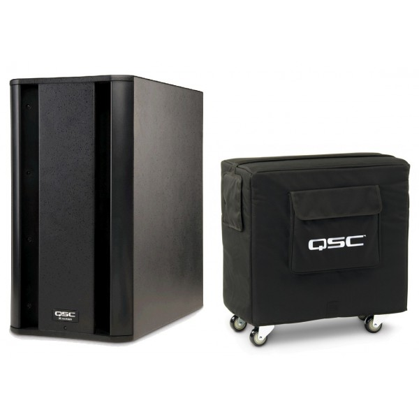 qsc k sub active subwoofer k sub cover included. Black Bedroom Furniture Sets. Home Design Ideas