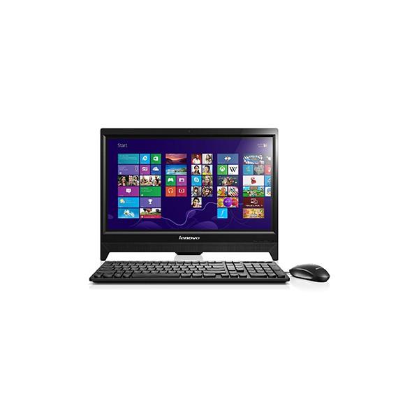 lenovo ordinateur c260 touch tout en un noir tactile. Black Bedroom Furniture Sets. Home Design Ideas