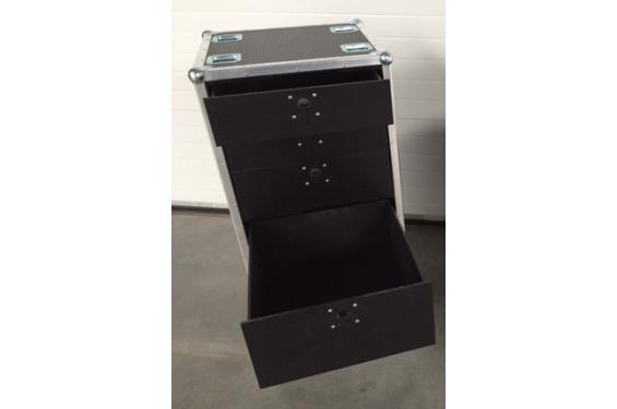 flight case de rangement 5 tiroirs h 120cm neuf. Black Bedroom Furniture Sets. Home Design Ideas