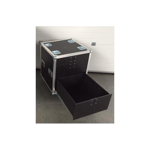 flight case de rangement 3 tiroirs h 80cm neuf. Black Bedroom Furniture Sets. Home Design Ideas
