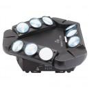 CONTEST - HELIPTIC 9x10WH - Effet multi-beam 9 LEDs de 10W Blanc (Neuf)
