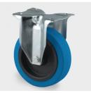TENTE - Roulette Fixe sans frein D=125mm - Bleu (Neuf)