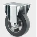 TENTE - Roulette Fixe sans frein D=200mm - Noir - vendu par lot de 40 pièces (Neuf)
