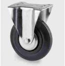 TENTE - Roulette Fixe sans frein D=100mm - Noir - Vendu par lot de 40 pièces (Neuf)