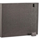 EXECUTIVE AUDIO - Mousse de protection rigide pour Flight case contôleur Midi (Neuf)