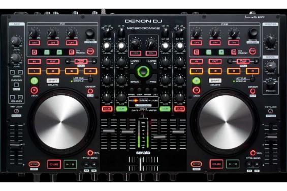 Denon Table De Mixage Dn Mc6000 Mk2 Double Lecteur